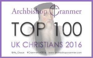 Archbishop Cranmer Top 100 UK Christians